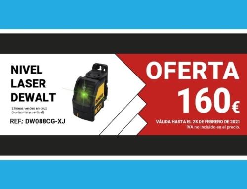 Oferta del mes: NIVEL LASER DEWALT DW088CG-XJ