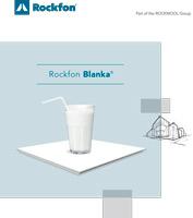 Rockfon Blanka folleto