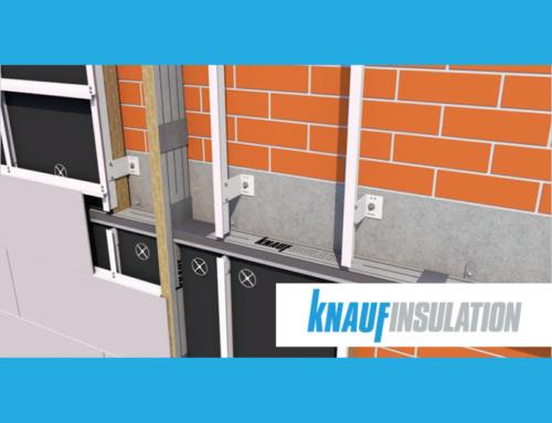 Knauf Insulation lanza una solución novedosa de barreras cortafuegos para fachadas ventiladas en obra nueva y rehabilitación